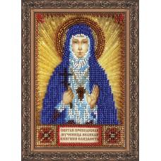 Набір для вишивання бісером на натуральному художньому холсті Свята Єлизавета