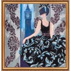 """Набір для вишивання бісером на натуральному художньому холсті """"Вікно в Лондон"""""""