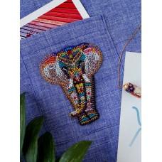 """Набір для вишивання бісером прикраси на натуральному художньому холсті Паттернхолст """"Чудо Індії-А"""""""