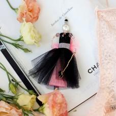 """Набір для створення прикраси лялечки-підвіски """"Рожевий зефір"""""""